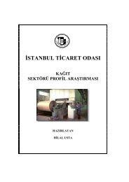 Kağıt Sektörü Profil Araştırması 2004 - ITO