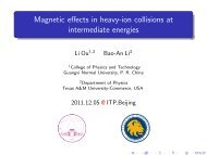 Magnetic effects in heavy-ion collisions at intermediate energies