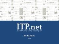 Download Media Pack - ITP.com
