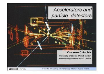 Slides 2 - Institute for Theoretical Physics