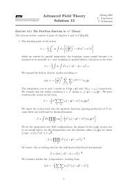 Advanced Field Theory Solution 13