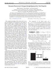 Resonance Fluorescence in Transport through Quantum Dots ...