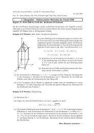 Übung 3 (PDF, 76,0 KB) - Institut für Theoretische Physik