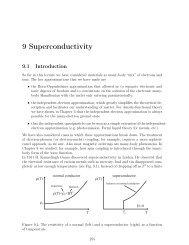 9 Superconductivity