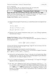 Übung 10 (PDF, 32,7 KB) - Institut für Theoretische Physik - TU Berlin