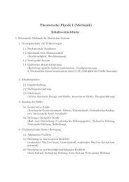 PDF, 25,6 KB - Institut für Theoretische Physik