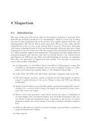 8 Magnetism