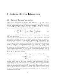 3 Electron-Electron Interaction