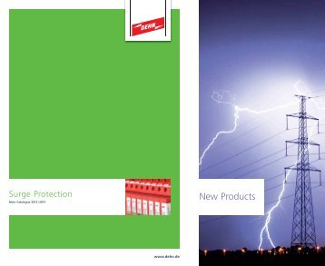 Surge Protection Main Catalogue - Dehn + Söhne Blitzschutzsysteme