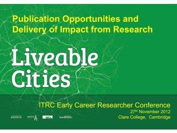 Chris Rogers, University of Birmingham - ITRC