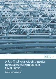 Executive summary - ITRC