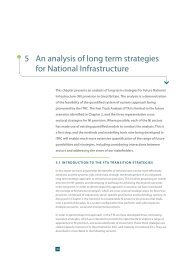 5 An analysis of long term strategies for National Infrastructure - ITRC
