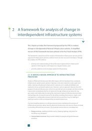 2 A framework for analysis of change in interdependent ... - ITRC