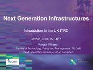 Next Generation Infrastructures - ITRC