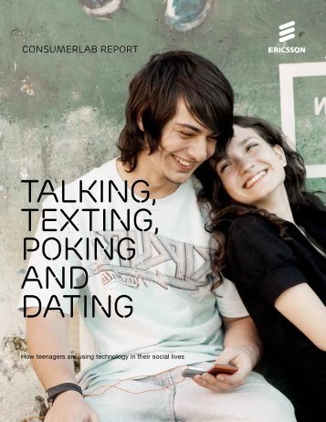 Talking, texting, poking and dating