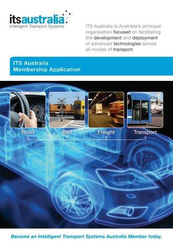 ITS Australia Membership Application