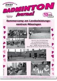 Sommercamp am Landesleistungs - Baden - Württembergischer  ...