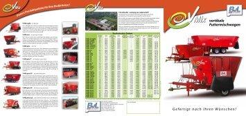 vertikale Futtermischwagen - BvL Group