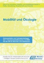 Mobilität und Ökologie