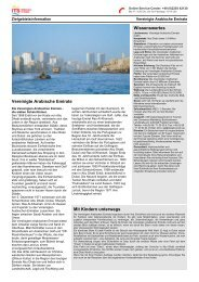Zielgebietsinformation Vereinigte Arabische Emirate - Its
