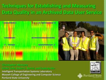 Techniques For Establishing And Measuring Data Quality In