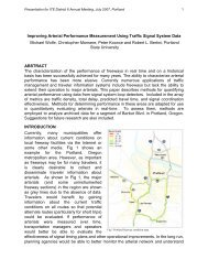 Improving Arterial Performance Measurement Using Traffic Signal ...
