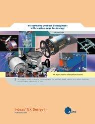 I-deas® NX Series - Industrial Technology Systems, sro