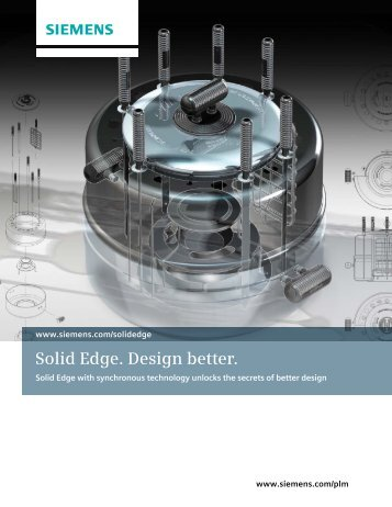 solid edge - Industrial Technology Systems, sro