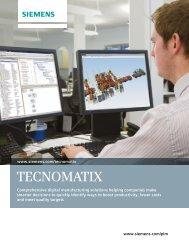 Tecnomatix overview brochure