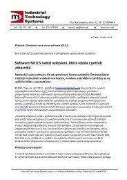 Faxova Sprava - Industrial Technology Systems, sro