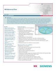 NX Advanced Flow