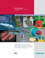NX Machining - Industrial Technology Systems, sro