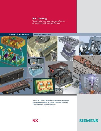 Siemens NX Tooling Brocure - Industrial Technology Systems, sro