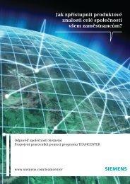 Teamcenter Overview Brochure (Czech)