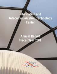 Cover + I + II.qxd - Information and Telecommunication Technology ...