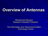 Overview of Antennas - Information and Telecommunication ...
