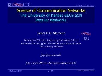 Regular Networks - Information and Telecommunication Technology ...