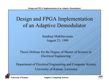 thesis fpga Partially reconfigurable network controller an fpga-based partially reconfigurable network controller thesis are as follows: • design of an fpga-based.