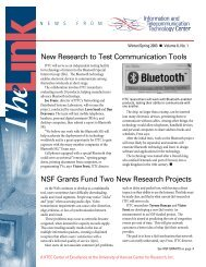 New Research to Test Communication Tools NSF Grants Fund Two ...