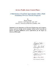 PHD Dissertation - Information and Telecommunication Technology ...