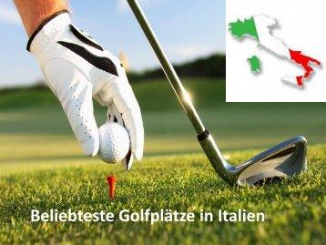 Beliebteste Golfplätze in Castelfalfi