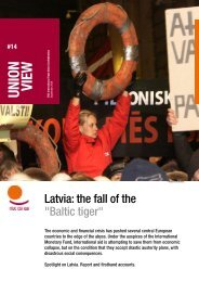 « Union View » on « Latvia - ITUC