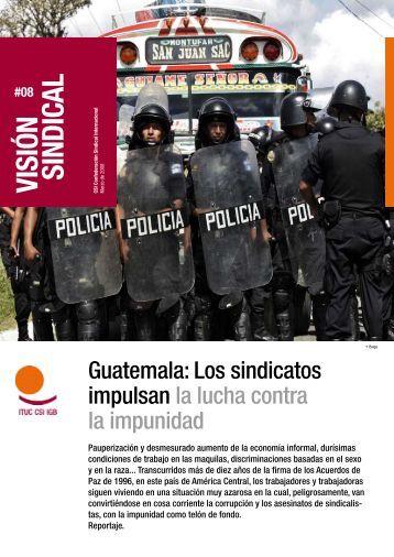 Leer Visión sindical Guatemala - ITUC