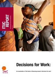 Decisions for Work: - ITUC