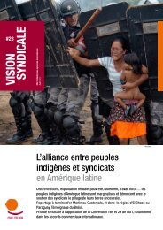 VISION SYNDICALE - ITUC