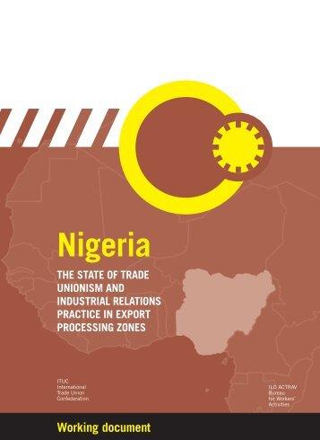 Nigeria - International Labour Organization