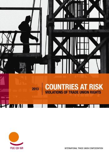 COUNTRIES AT RISK - ITUC