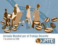 Folleto Jornada Mundial por el Trabajo Decente 2008 - ITUC