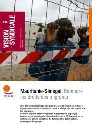 Mauritanie-Sénégal : Défendre les droits des migrants - ITUC
