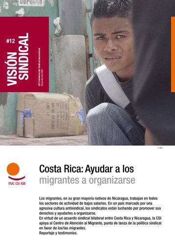 Visión sindical: Costa Rica - ITUC
